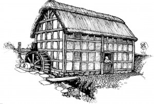Stretton Watermill in 1630