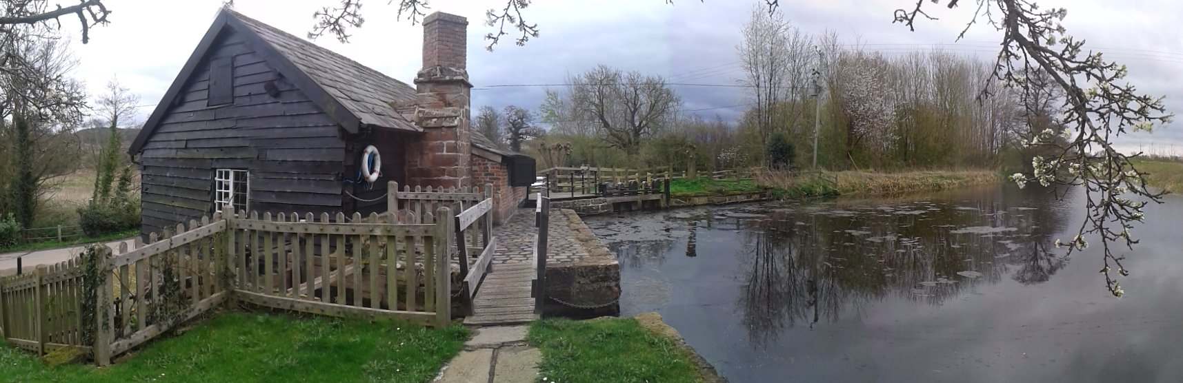 Panorama of the Watermill